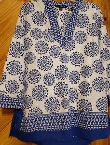 👚Sharagano Top size Large  3/4 sleeves